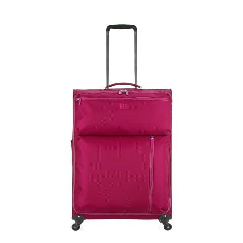 Revelation By Antler Pink Weightless 4 Wheel Medium Suitcase 67cm