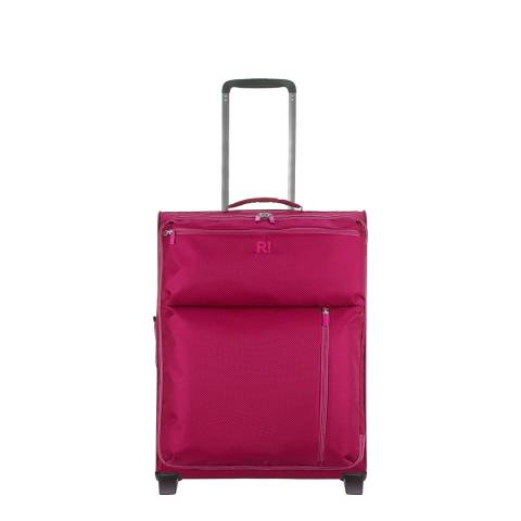 Revelation By Antler Pink Weightless 2 Wheel Cabin Suitcase 55cm