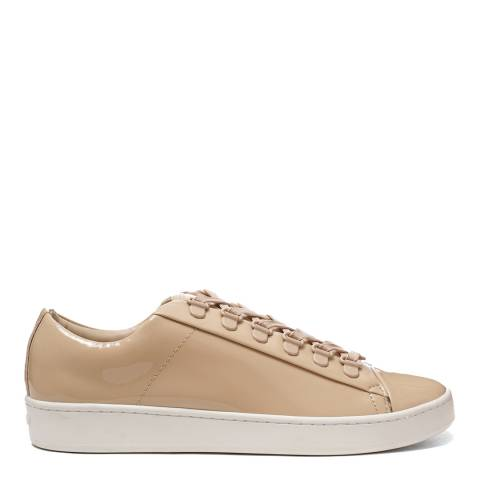 DKNY Nude Patent Leather Brayden Sneakers