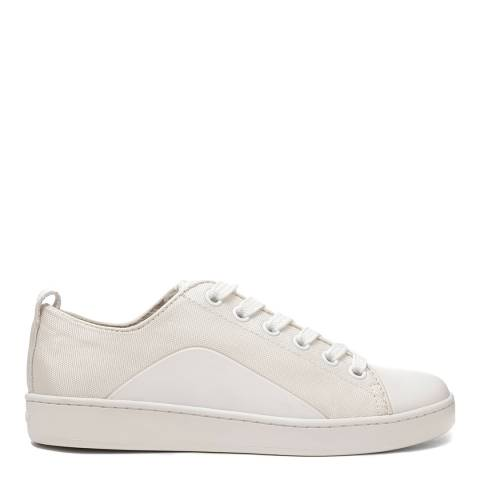 DKNY Cream And White Brayden Sneakers