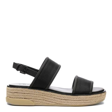 DKNY Black Sling Back Shana Sandals