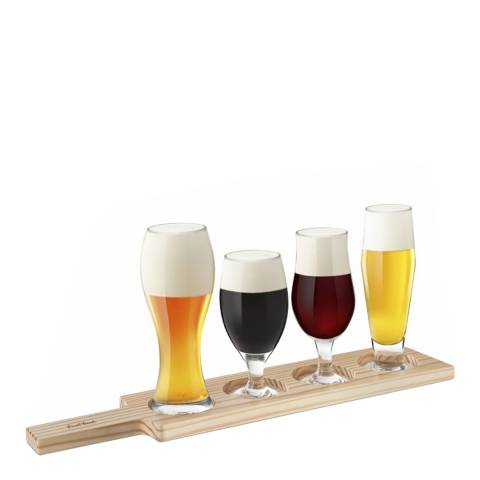 Christmas Bar 6 Piece Beer Tasting Set