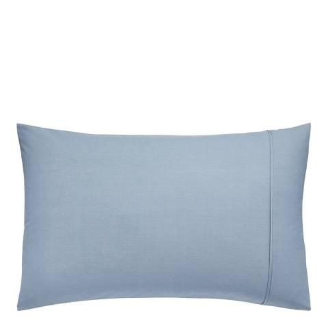 Clarissa Hulse Mini Patchwork Pair of Housewife Pillowcases, Aqua