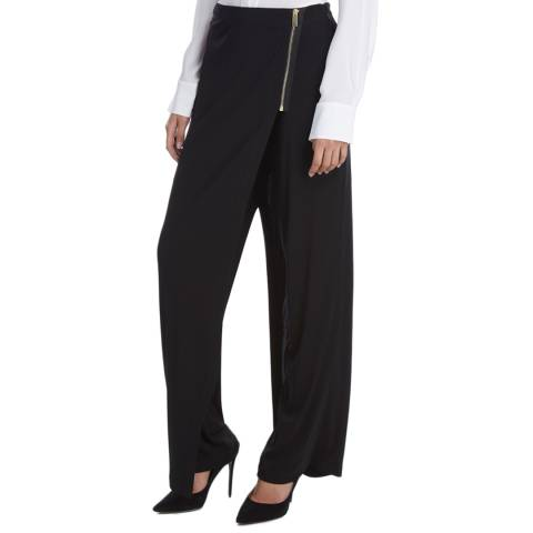 Donna Karan New York Black Wrap Trousers