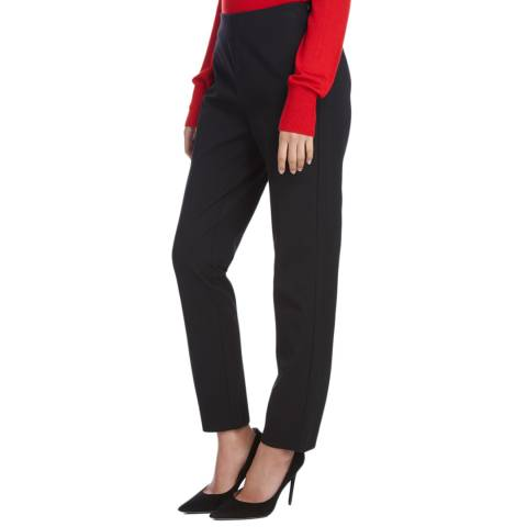 Donna Karan New York Black Seamed Leggings
