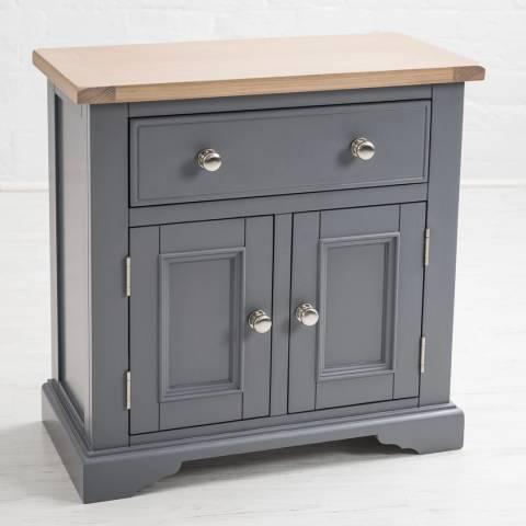 Maine Furniture Co. Grey Faversham Small Cupboard