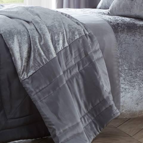 Portfolio Boulevard Quilted Bedspread, Dove Grey