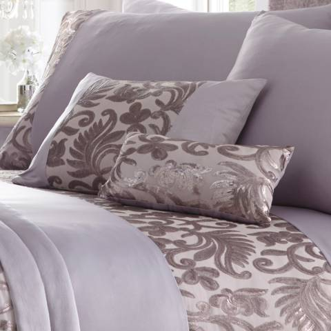 Portfolio Grace Boudoir Cushion, Mauve