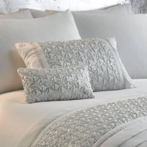 Portfolio Zenia Boudoir Cushion, White