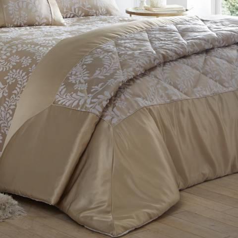 Portfolio Zahara Quilted Bedspread, Oyster