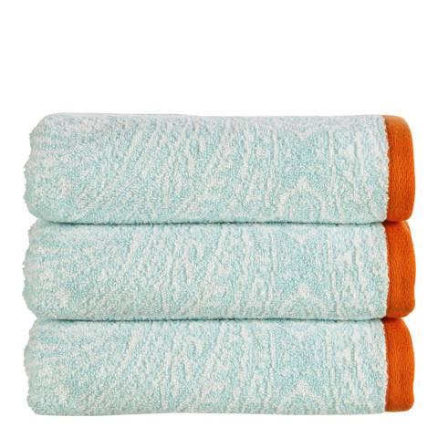 Kingsley by Christy Moda Bath Towel, Aqua