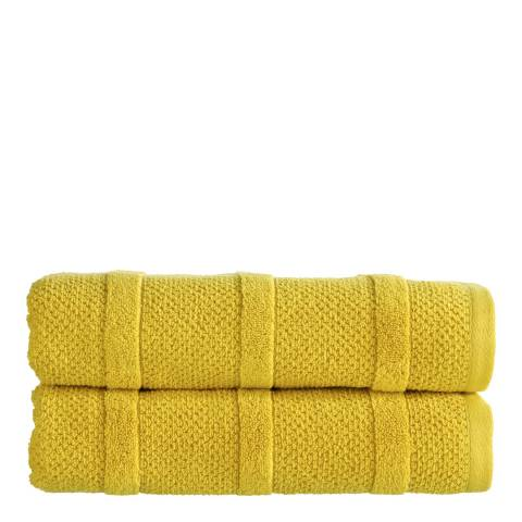 Kingsley by Christy Neo Hand Towel, Chartreuse