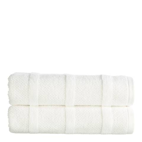 Kingsley by Christy Neo Hand Towel, White