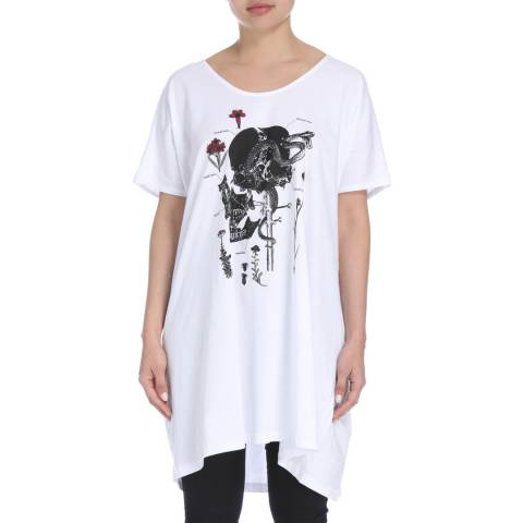 Bolongaro Trevor White Base Long Tee