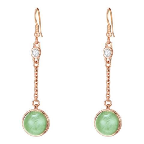 Lilly & Chloe Green Swarovski Elements Earrings