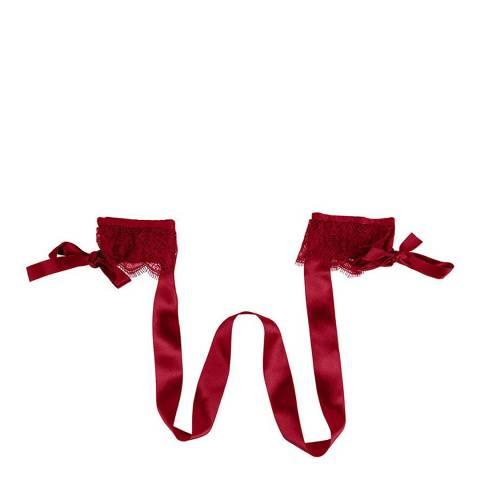 Pleasure State White Label Jester Red D'Arcy Delatour Hand Tie