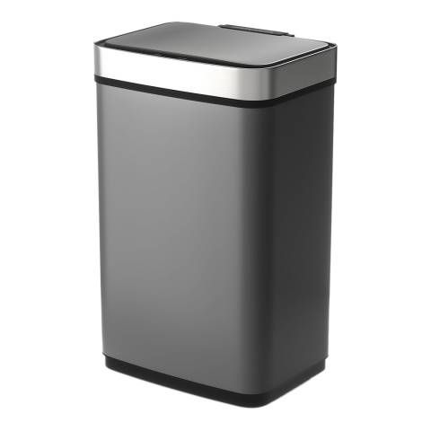 Morphy Richards 60L Rectangular Sensor Bin, Titanium