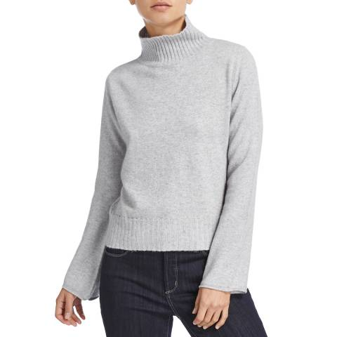 Scott & Scott London Grey Cashmere Piper Jumper