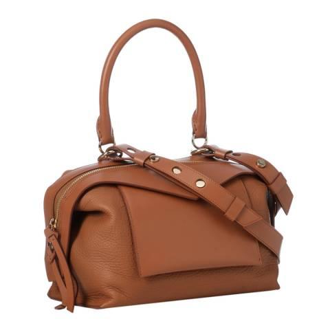 Givenchy Cognac Givenchy Small Sway Tote Bag