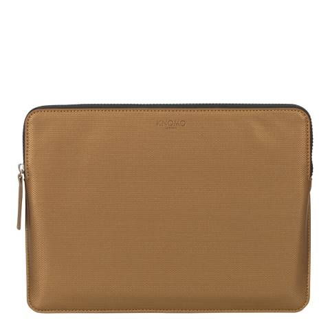 Knomo Bronze Macbook Pro Embossed 12 inch Laptop Sleeve
