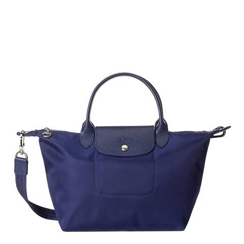 Longchamp Blue Le Pliage Neo Tote Bag