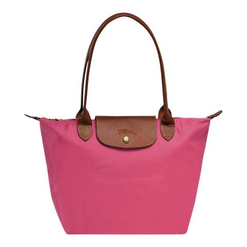 Longchamp Pink Small Le Pliage Bag