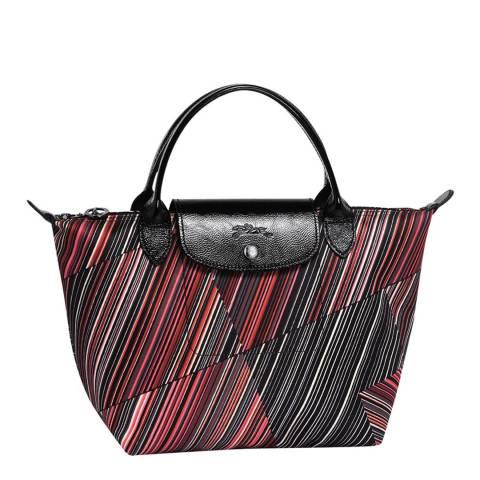 Longchamp Red Small Op'Art Bag