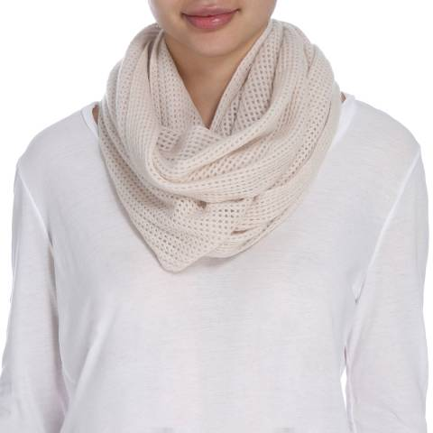 James Perse Womens Driftwood Infinity Scarf