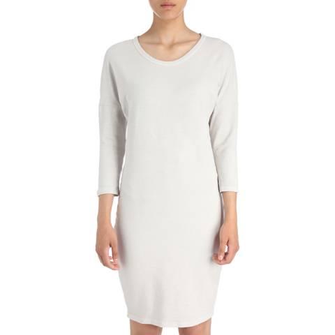 James Perse Womens Silver Pigment Dolman Blouson Back Dress