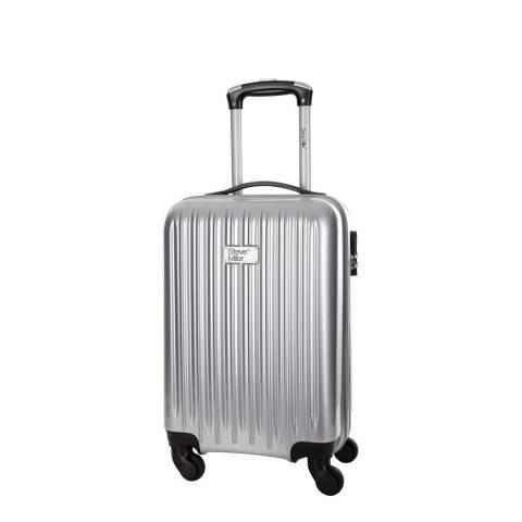 Steve Miller Silver Eagle 4 Wheel Cabin Suitcase 46 cm