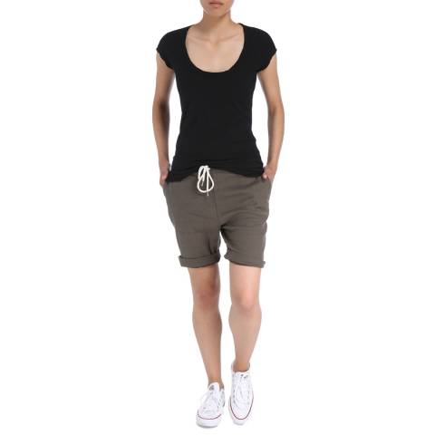 James Perse Womens Platoon Pull On Linen Trouser Short