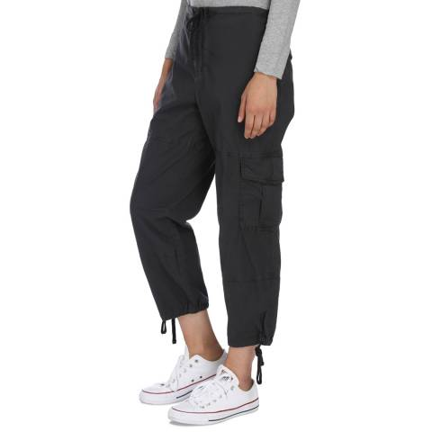 James Perse Carbon Slim Cropped Cargo Pant