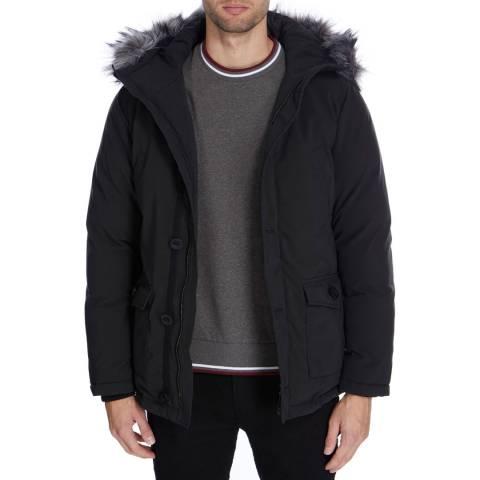 Gianni Feraud Black Padded Arnold Coat