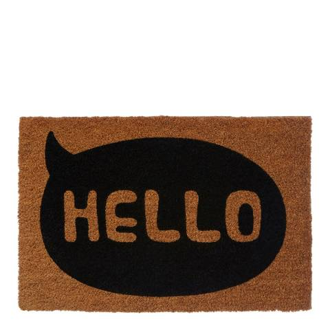Premier Housewares Hello Doormat 40x60cm