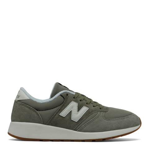 New Balance Women's Khaki Suede 420 Trainers