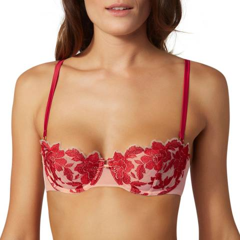 Boux Avenue Red Mix Bonnie Reg Balconette Bra