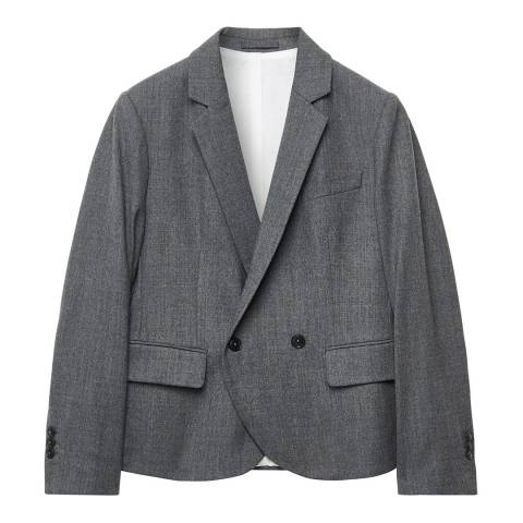 Gant Grey Double Breasted Blazer