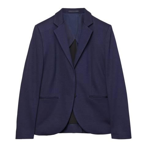 Gant Blue Jersey Twill Blazer