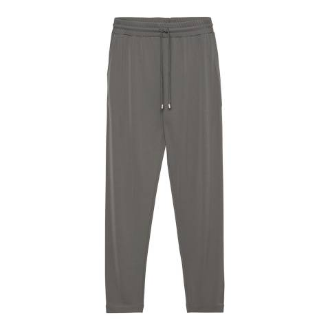Gant Grey Jersey Crepe Trousers