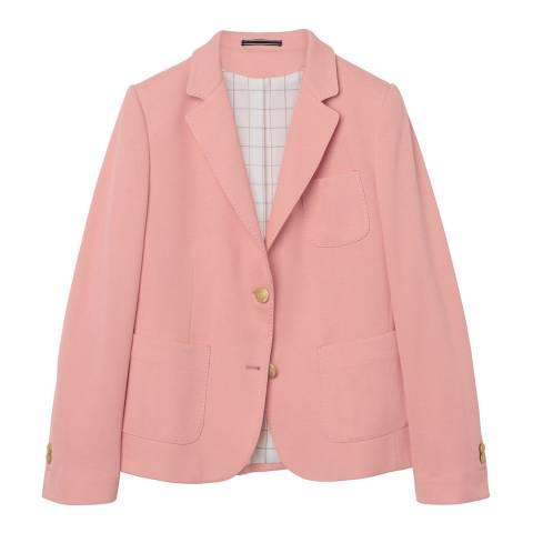 Gant Pink Stretch Jersey Blazer