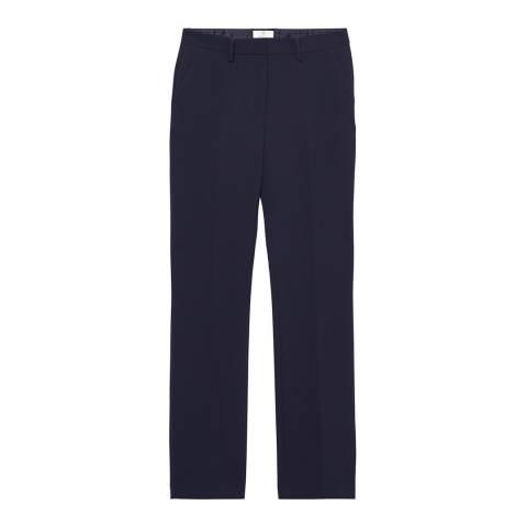 Gant Blue Wide Leg Pant