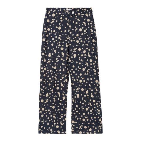 Gant Blue Dot Print Trousers