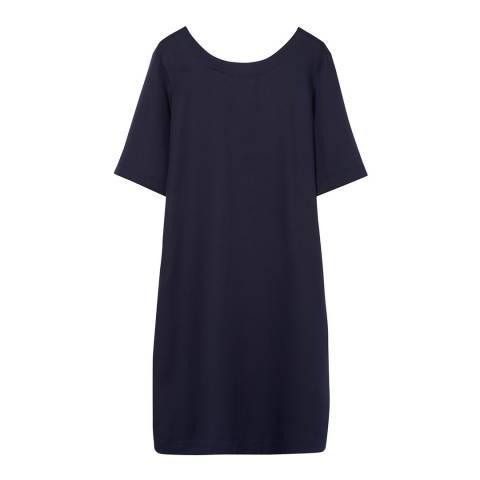 Gant Blue Shirt Back Dress