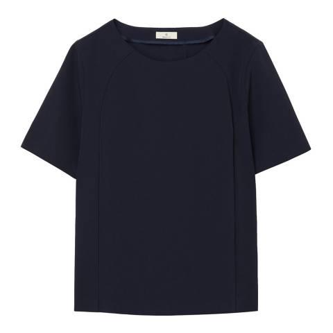 Gant Blue Women Short Sleeve Top
