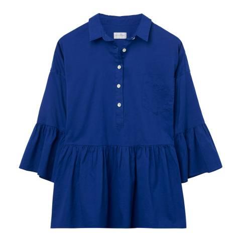 Gant Blue Windblown Oxford Pullover