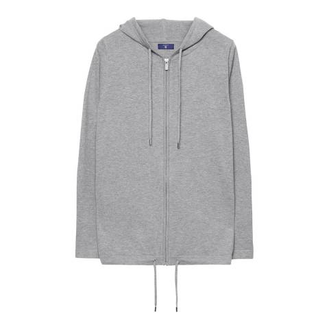 Gant Grey Sporty Hoodie