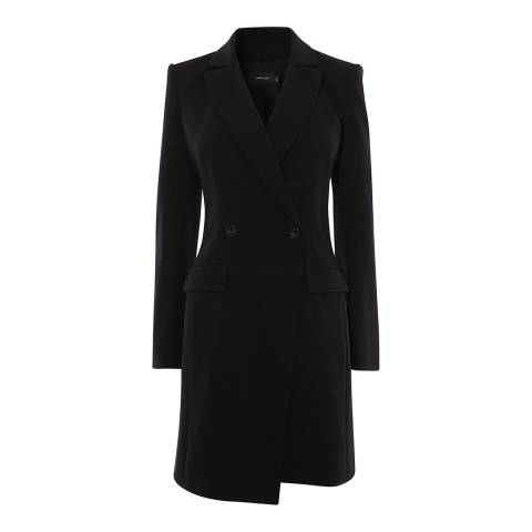 Karen Millen Black Tuxedo Dress
