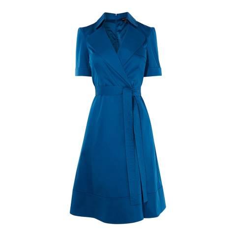Karen Millen Blue Trench Dress