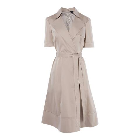 Karen Millen Grey Trench Dress