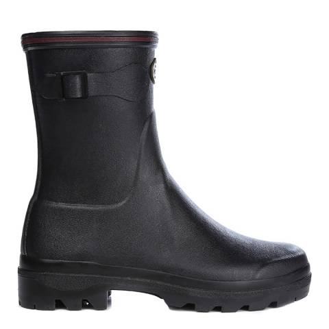 Le Chameau Black Giverny Low Boots